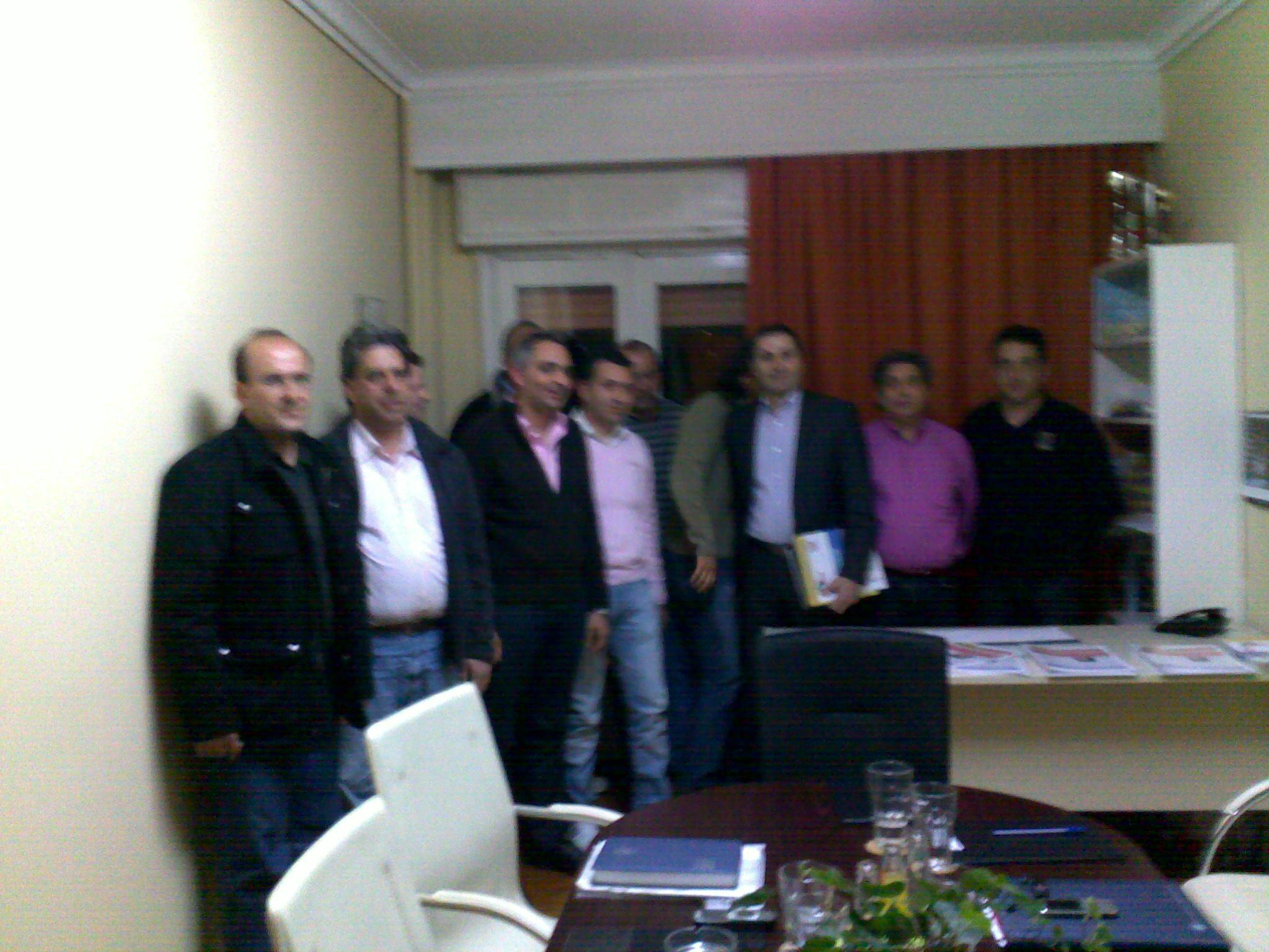Επίσκεψη Βουλευτή Στάθη Κουτμερίδη